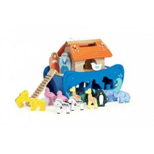 Παιδική ξύλινη κιβωτός του Νώε Le Toy Van tv212 3Ε+