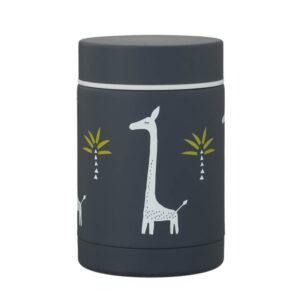 Θερμός φαγητού Fresk ανοξείδωτο ατσάλι 300ml giraf FR-FD100-60