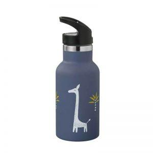 Παγούρι ανοξείδωτο ατσάλι 350ml Fresk με δύο πώματα giraf