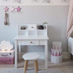 Ξύλινες κρεμάστρες Jabadabado ροζ για διακόσμηση παιδικού δωματίου
