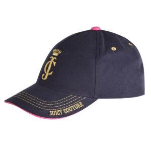 Καπέλο jockey Juicy Couture JBX5134P6 μπλε σκούρο