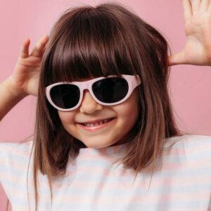 Παιδικά γυαλιά ηλίου iTooTi 6-10 ετών pink με εύκαμπτο σκελετό