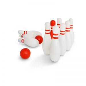 Σετ bowling ξύλινο ΒS Toys GA148 για αληθινούς παίκτες