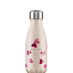 Ισοθερμικό μπουκάλι Chilly's 260ml hearts 200119