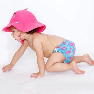 Σετ μαγιό πάνα & καπέλο UPF50+ Zoocchini zoo1706