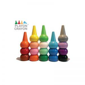 Κηρομπογιές Playon Crayon 12 τεμάχια/χρώματα 2Ε+