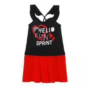Παιδικό σετ με κλος φούστα Sprint 22081701 για κορίτσια έως 16 ετών