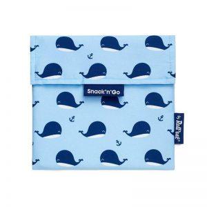 Οικολογική θήκη snack Ecolife whales 33-SG-KI010