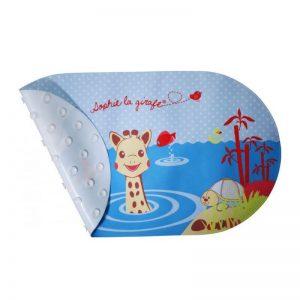Αντιολισθητικό χαλάκι μπάνιου Sophie la girafe με ένδειξη θερμοκρασίας