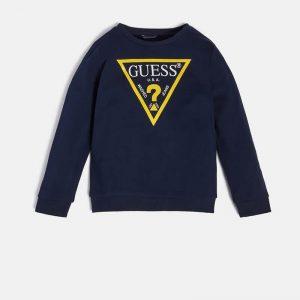 Μπλούζα λεπτό φούτερ Guess L73Q09KAUG0 για αγόρια