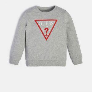 Μπλούζα φούτερ λεπτό Guess N73Q10KAUG0 για αγόρια