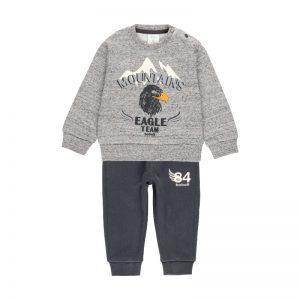 Φόρμα mini boy Boboli 323110 για αγόρια έως 6 ετών
