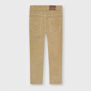 Παιδικό παντελόνι κοτλέ slim fit Mayoral mini boy 537 για αγόρια