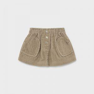 Βρεφική φούστα κοτλέ Mayoral 02903 για κορίτσια έως 3 ετών